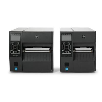 imprimante industrielle Zebra ZT400 - Vue arrière