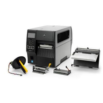 imprimante industrielle Zebra ZT400 et équipements