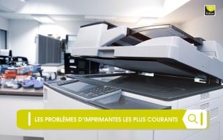 problèmes d'imprimantes
